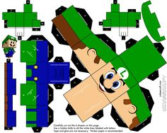 Luigi Cubeecraft                                                                                                                                                      Mais