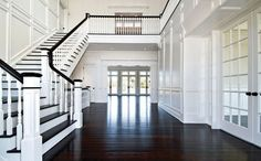 there's nothing better than dark flooring! you have to clean it a ton but it's worth it!