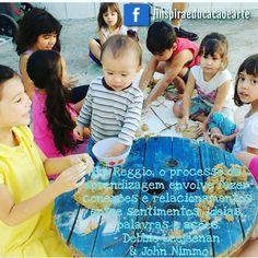 #ReggioEmilia #Inspira #desenvolvimentoInfantil #brincadeiras #livrebrincar #coloniadeferias