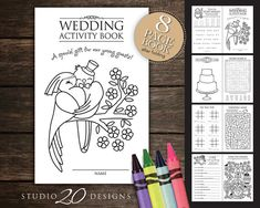Awesome Wedding Coloring Book Download