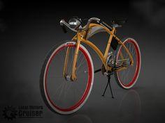 cruiser racer motorbike design by Janos Insperger