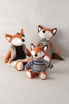 Fox Family Stuffed Animal