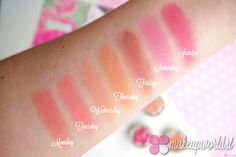 Neve Cosmetics Blush Garden swatch
