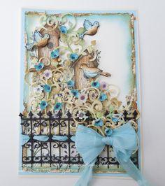 Raindrops on Roses: Heartfelt Creations Bluebirds