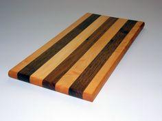 Refinished Light and Dark Oak Cutting Board