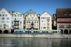 Tips for visiting Zurich, Switzerland. You'll need them on the land portion of your AMA Waterways Christmas cruise. From Traveling Canucks