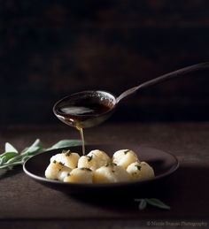 An easy recipe for delicious turnip and potato gnocchi with browned butter and sage.