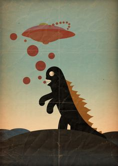 Godzilla v aliens