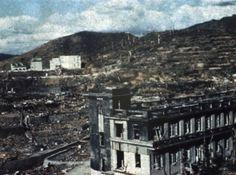 被爆後の長崎市内。長崎病院…:1945年8月~被爆した広島、長崎~ 写真特集:時事ドットコム