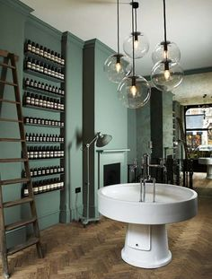 Ilse Crawford of Studio Ilse has designed the first London outlet of Australian skincare brand Aesop.