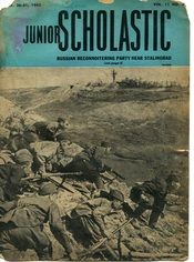 Another wartime edition of Junior Scholastic. This one's from October of 1942.