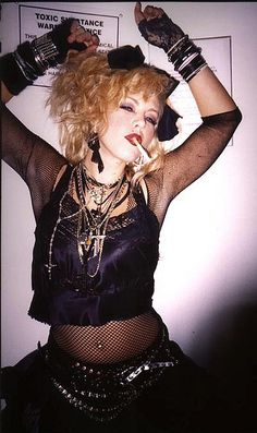 '80s style Madonna | 22 Creative Halloween Costume Ideas For '80s Girls
