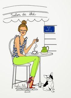 Angéline Mélin / Coffee Art / Coffee Shop Stuff