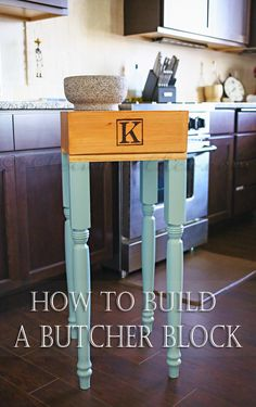 How to Build a Butcher Block on kleinworthco.com