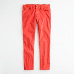 Garment-dyed skinny jean. J.Crew Factory, 17 when you use the 50% off sale code!  Finally, these pants cost the amount of money I want to spend on them.