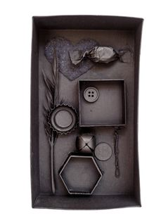 Your kids can repurpose old stuff with some Louise Nevelson inspiration...