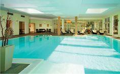 Piscina coperta hotel Waldhof a Parcines