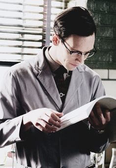 I am so in love with Ed Nygma from Gotham
