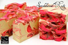 #soapinspiration Love her wispy swirls!  Divine! So Inspiring!