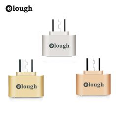 ELOUGH Fun mini Micro USB OTG Hug Converter Camera Tablet MP3 OTG Cable Adapter for Samsung Galaxy S3 S4 Sony LG Microusb OTG ** See this great product.