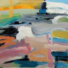 """""""Shadowland"""" by Nicholas Daunt. Oil on Canvas. 122 x 122 cm."""