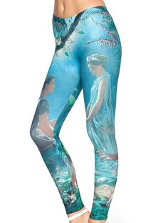 Midsummer MF Leggings (AU $75AUD / US $60USD) by Black Milk Clothing - LARGE