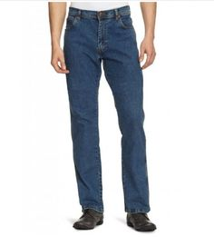 Feel comfortable by wearing wrangler texas jeans.