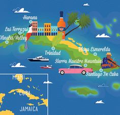 James Boast - Map of Cuba