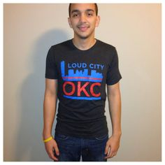 Loud City Thunder tee by YOStees on Etsy, $23.99