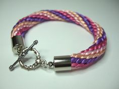 Kumihimo: Love the Colors on this Bracelet