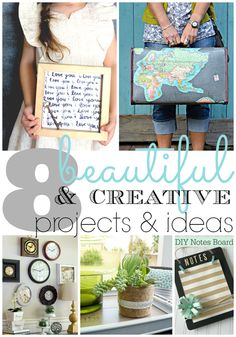 8 Beautiful Projects