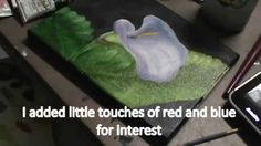 How to Paint a Calla Lily Flower - YouTube