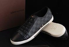 Louis Vuitton Damier graphite sneakers - dad's favourite pair...x