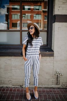 7402180b05c3 Don t think you can pull off stripes  This jumpsuit will change your mind
