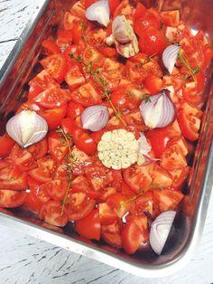 Tomatensoep, vers & makkelijk zelf te maken made by ellen