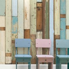 Scrap Wood Wall Paper 03 by Piet Hein Eek at White Punch