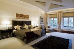 Master Bedroom, minus the furniture, love this room!