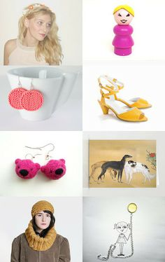 Morning Pink and Yellows :) by Shani Mifano on Etsy--Pinned with TreasuryPin.com