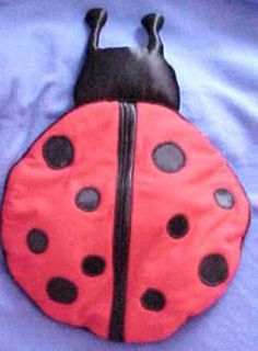 Sew Your Own Lady Bug Pajama Bag - Debbie Colgrove, Licensed to About.com