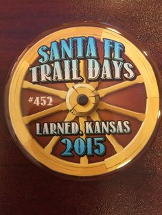 Santa Fe Trail Days Buttons