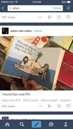 I saw this too at target! Sadly the dark haired one is dan and the lighter haired one is Phil. I guess they can't cater to all our needs