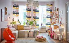 Ein Buntes Wohnzimmer Mit Viel Platz Für Die Kleinen. Und Das Modulare  KUNGSHAMN Sofa Kannst