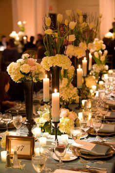 Romantic tablescape #weddings #tablescapes #blisschicago