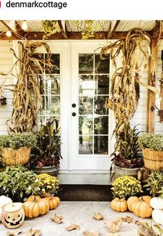 265 Best Fall Porches Front And Back