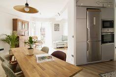 comedor, cocina y salón integrados