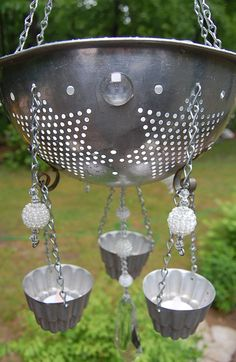Vintage Candle ChandelierJello by PenelopesTreasures on Etsy, $42.60