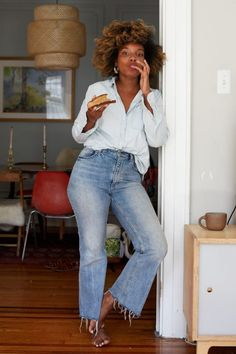 5 Ways I Instill Confidence in My Children (and myself) - LaTonya Yvette Summer Outfits, Casual Outfits, Cute Outfits, Fall Outfits, Summer Clothes, Look Fashion, Fashion Outfits, Fashion Shirts, Fashion Black