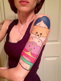 New School tattoo                                                                                                                                                     More