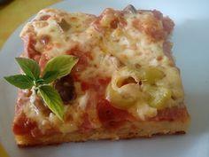 Φάε Βράδυ : ΠΙΤΣΑ ΜΕ ΣΠΡΑΙΤ Cookbook Recipes, Cooking Recipes, Cauliflower, Cheese, Vegetables, Food, Pizza, Cauliflowers, Eten