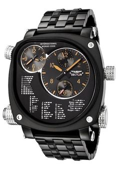 caecd845a59 SECTOR SPORT WATCH Mod. COMPASS DUAL TIME Serial 52425 Gents